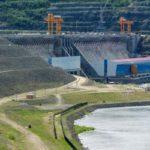 Поездка писателей на Красноярскую ГЭС