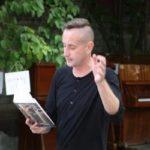 Сергей Жадан даёт интервью